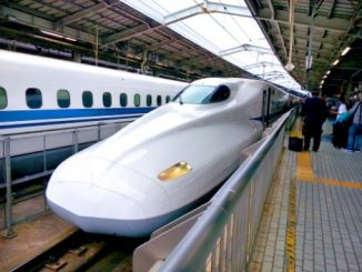 Japanese High Speed Train