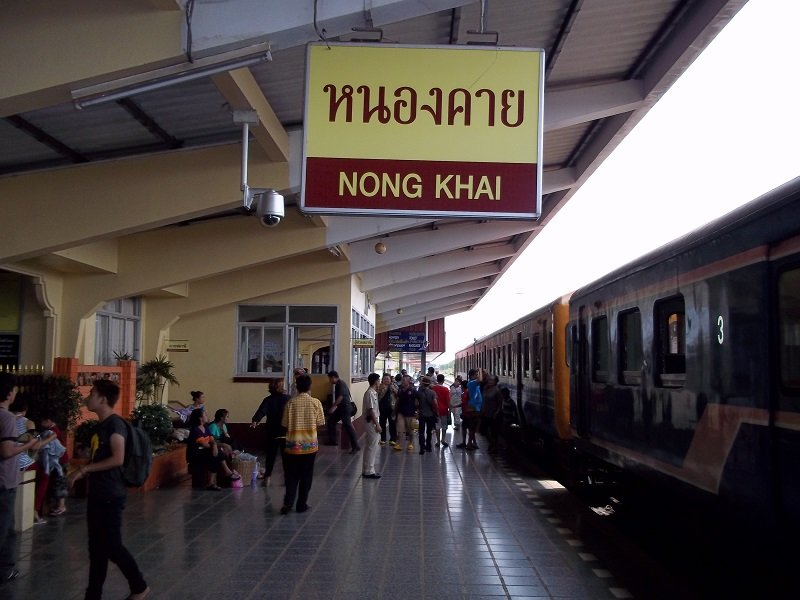 Nong Khai Train Station