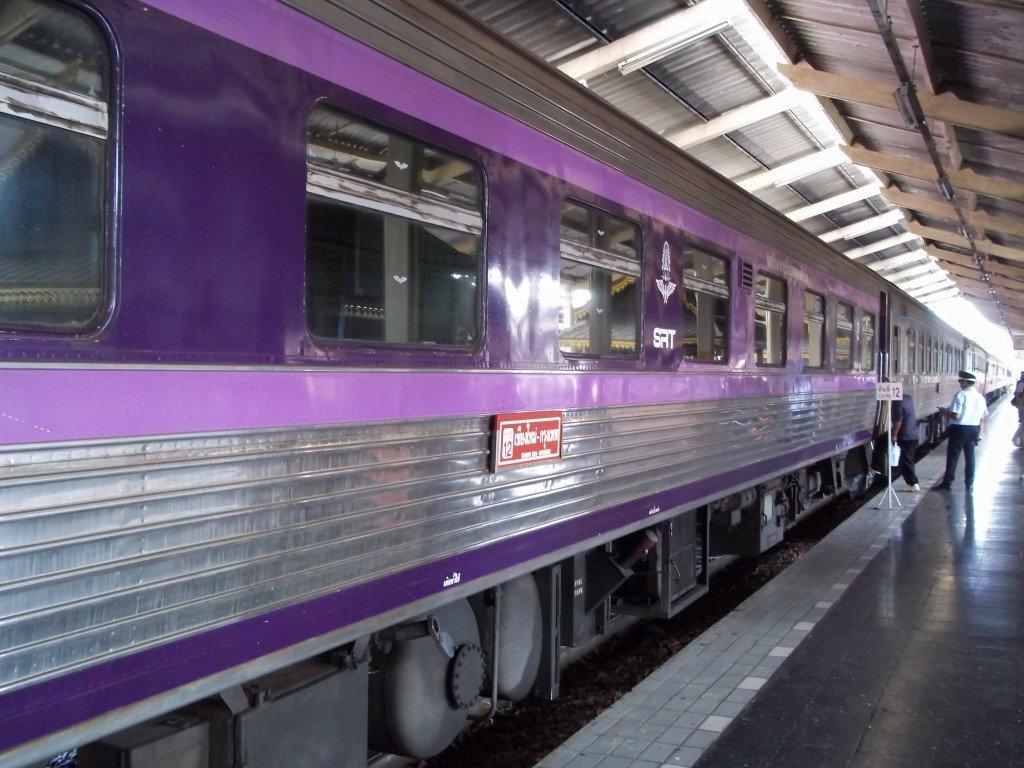 Train to Hat Yai