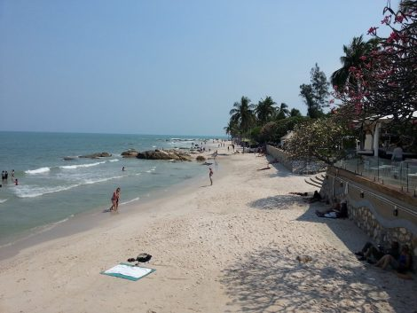 Beach at Hua Hin