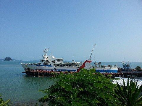 Car ferry from Surat Thani to Koh Phangan