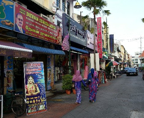 Little India in Penang