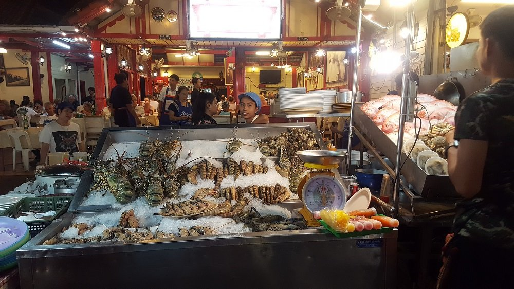 Seafood at Hua Hin Night Market