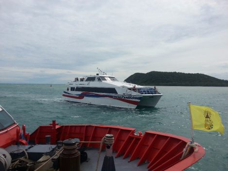 Lomprayah high speed catamaran ferry