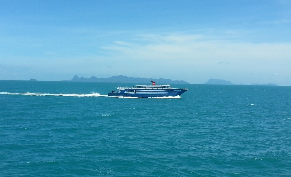 Songserm Ferry to Surat Thani