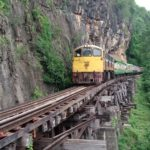 Train line near Kanchanaburi