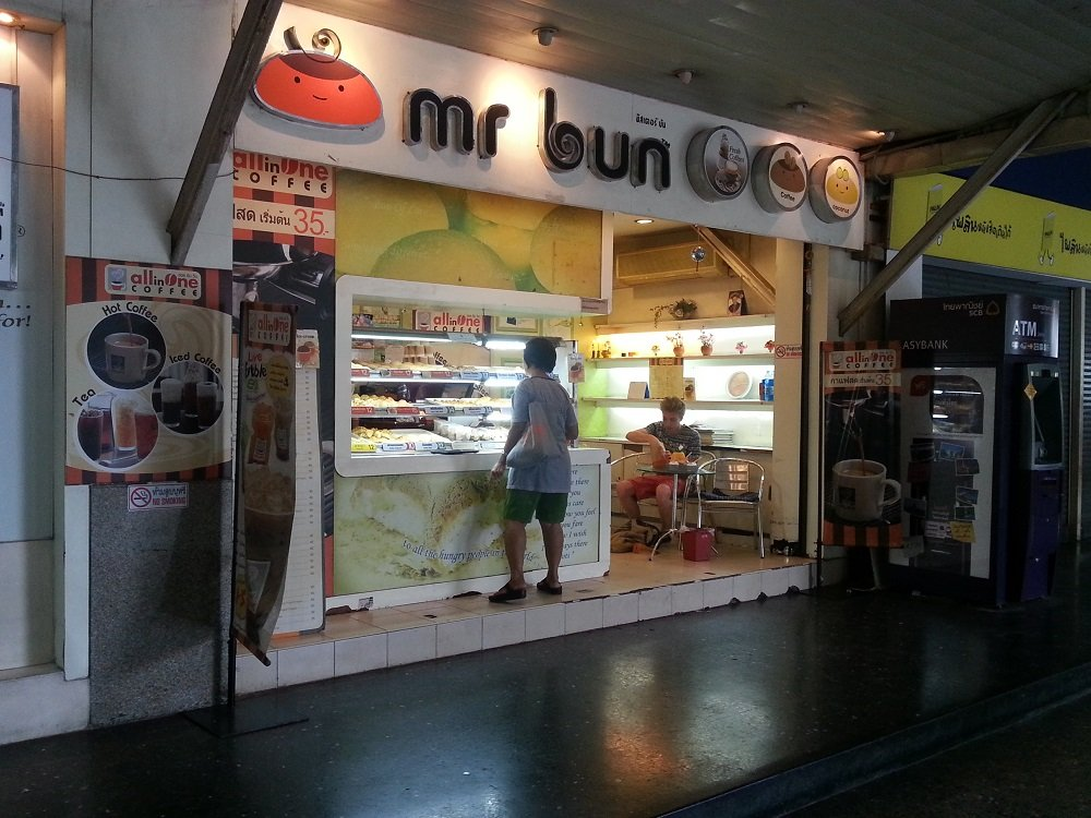 Mr Bun at Bangkok Train Station