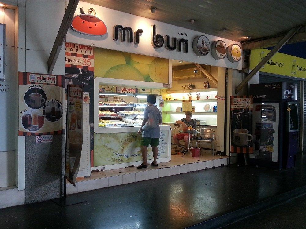 Mr Bun at Bangkok Train Station