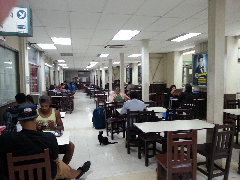 Food Court at Hua Lamphong Train Station