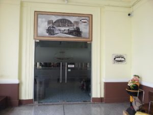 Entrance to Thai Railway Museum