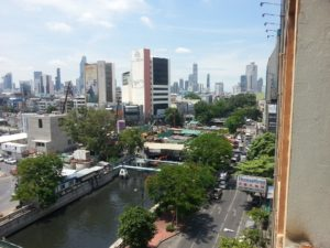 View of Bangkok from the Sri Krung Hotel