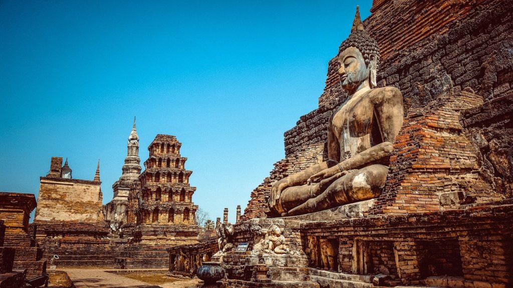 Sukhothai Historical Park near Phitsanulok