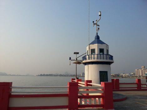 View from the Pier at Prachuap Khiri Khan