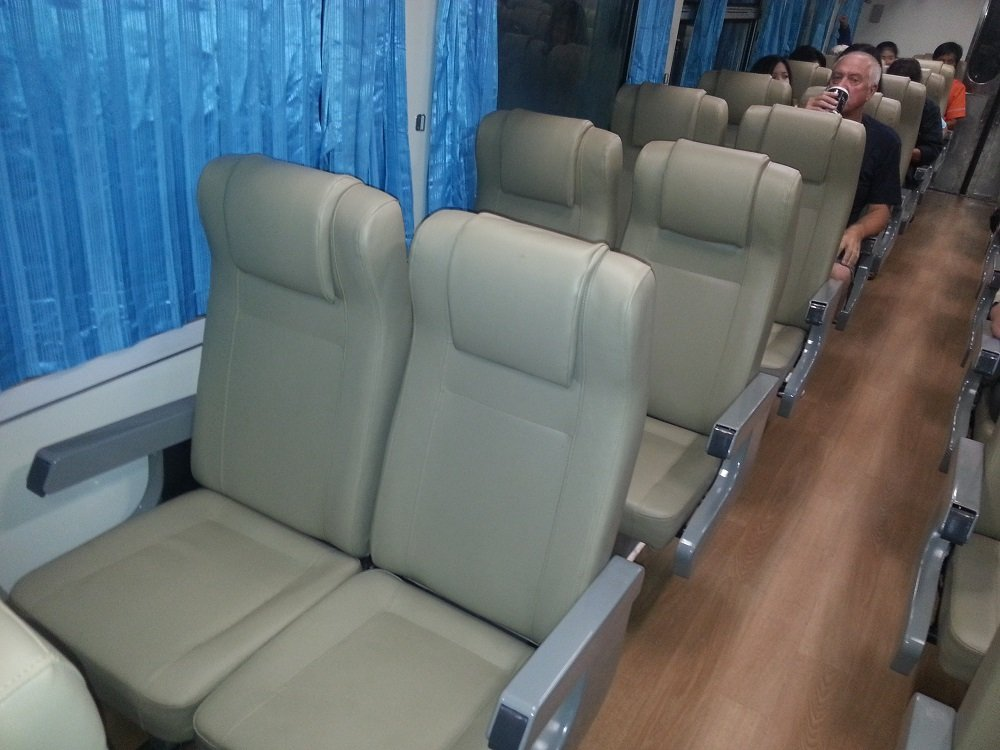 2nd Class Air Conditioned Seats on Train #43