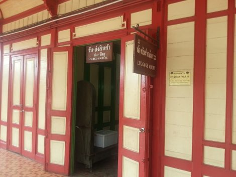 Parcels Office and Luggage Room at Prachuap Khiri Khan Train Station