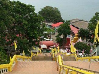 View from Wat Khao Takiap in Hua Hin
