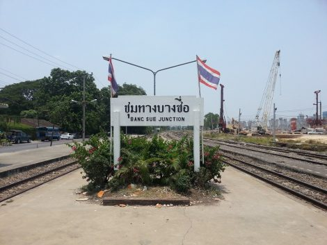 Railway station at Bang Sue Junction