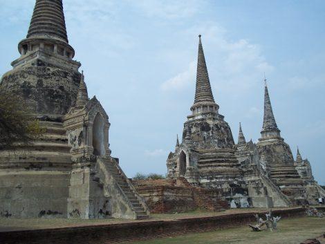 Wat Si Samphet in Ayutthaya