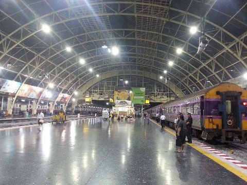 Platforms at Bangkok Train Station