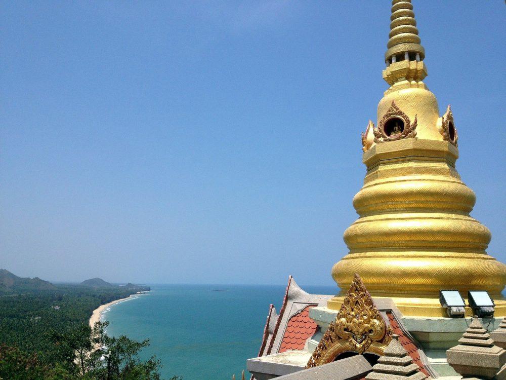 Temple in Bang Saphan