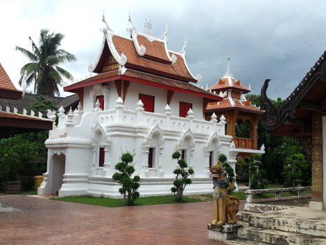Wat Pratu Pong in Lampang