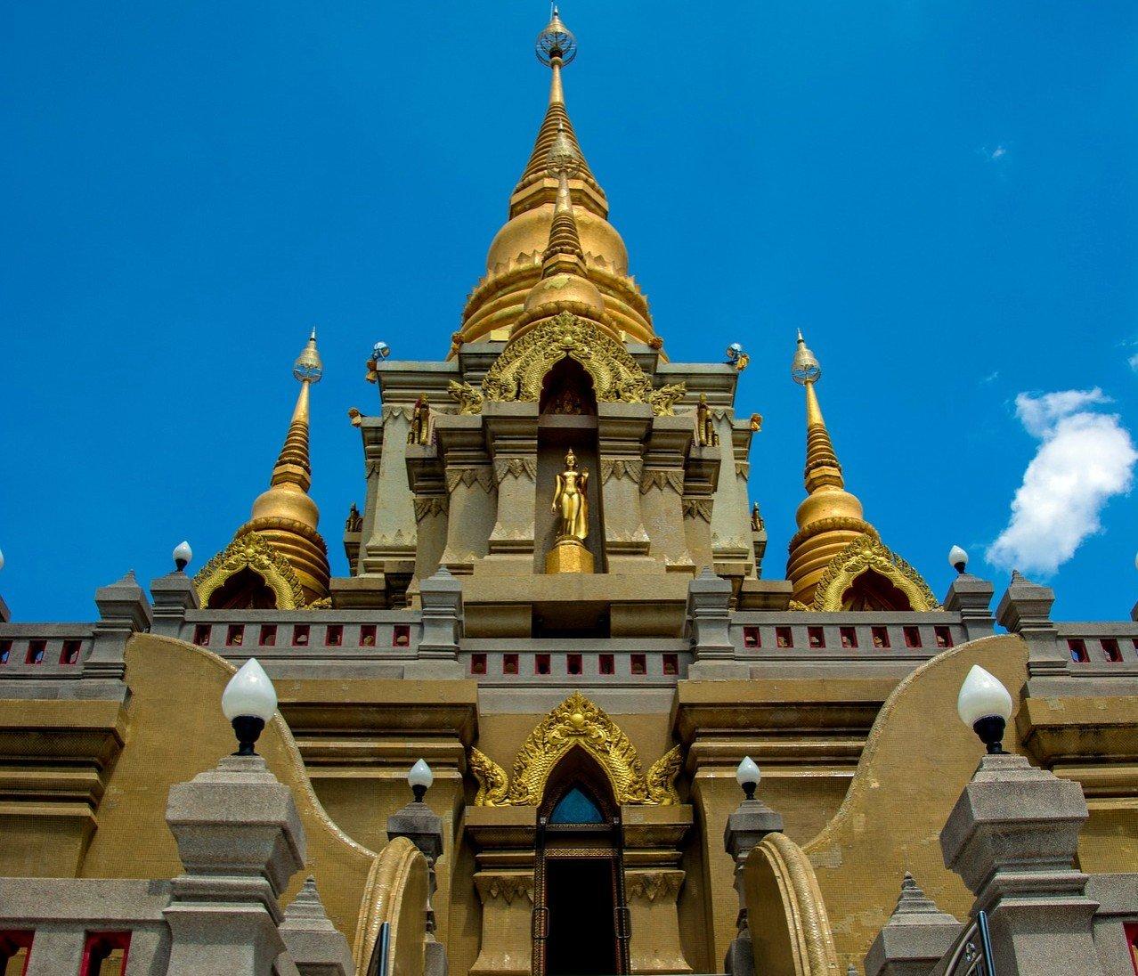 Phra Mahathat Chedi Phra Phutthathammaprakat near Yala