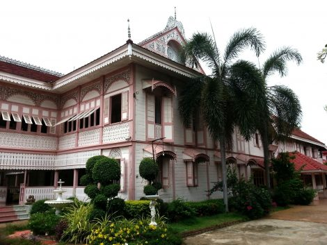 Vongburi House in Phrae