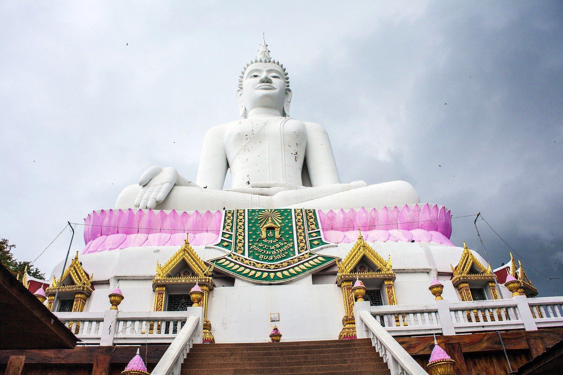 Wat Phra Bat Pan Kham near Nam Phong