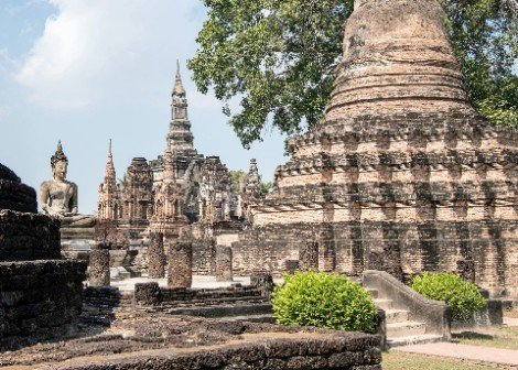 Sukhothai Historical Park is near Phitsanulok