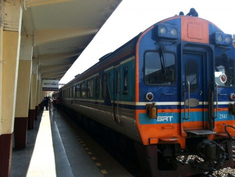Train at Nakhon Ratchasima Railway Station
