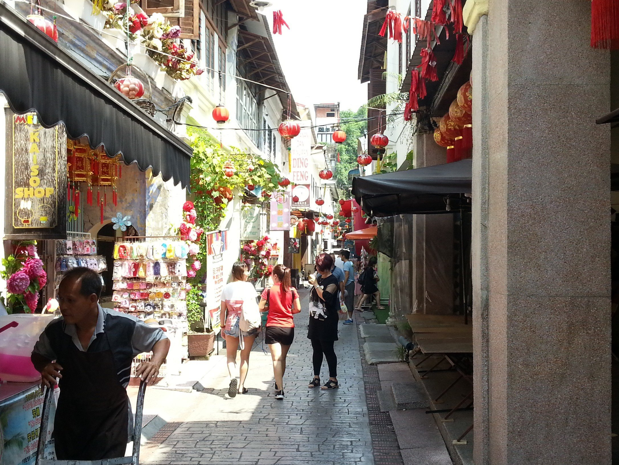 Concubine Lane in Ipoh