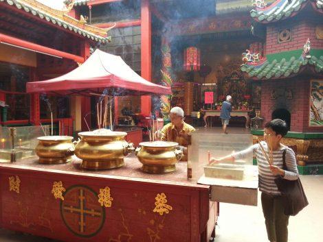 Temple of Guan Di in Kuala Lumpur