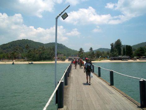 Thungmakham Noi Pier near Chumphon