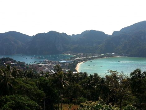 Tonsai Village in Koh Phi Phi