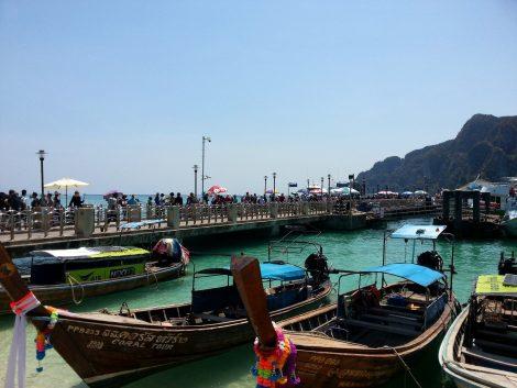 Main Pier in Koh Phi Phi