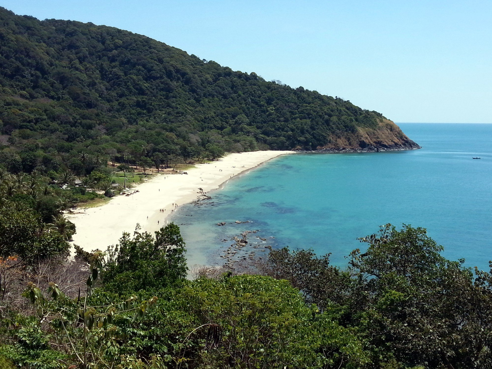 Bamboo Beach in Koh Lanta