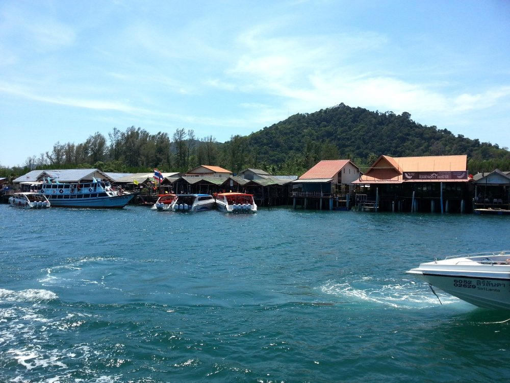 Saladan Pier in Koh Lanta