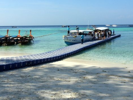 Speedboat pier in Koh Lipe