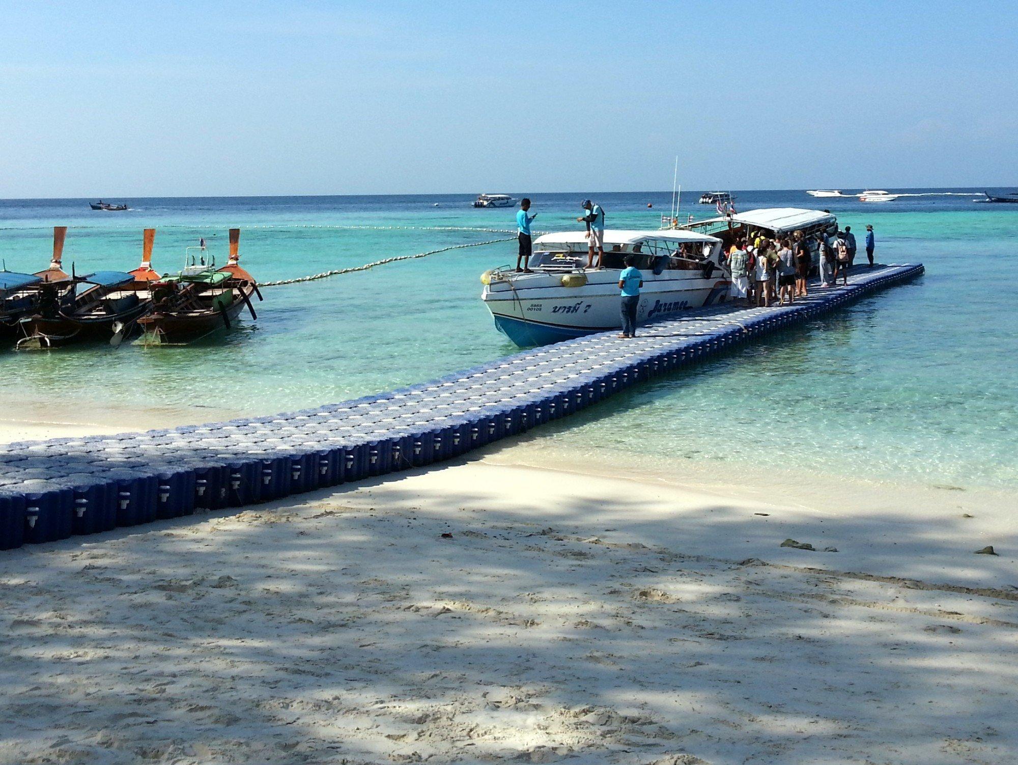 Speedboat pier in Koh Lipe
