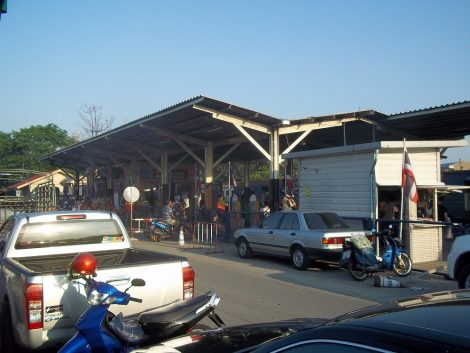 Front of Thonburi Train Station