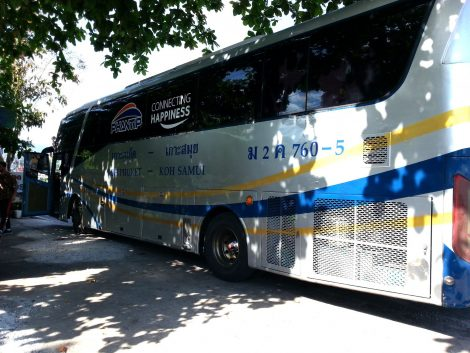 Phantip Travel Bus to Surat Thani
