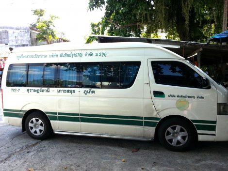 Phantip Travel minivan service