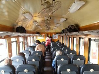 Currently all Thailand Train services are using fan cooled carriages