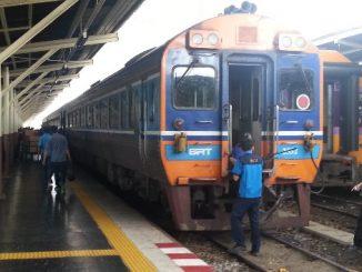 Train #7 from Bangkok to Chiang Mai