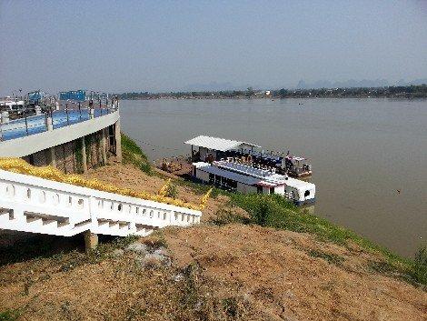 Mekong River in Nakhon Phanom