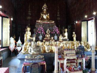 Shrine at Wat Thepthidaram in Bangkok