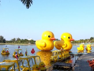 Nong Prajak Park in the centre of Udon Thani