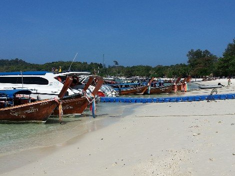 Koh Lipe is easily reached from Hat Yai