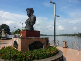Riverside in Surat Thani