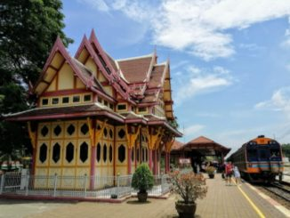 Hua Hin has Thailand's prettiest railway station